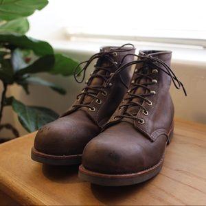 Used Chippewa Steel Toe Work Boots